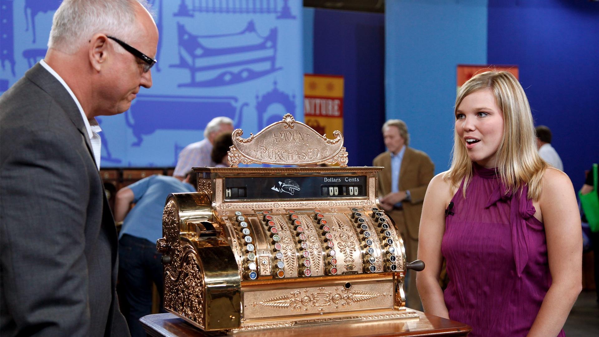 Appraisal: National Cash Register Brass Cash Register