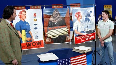 Antiques Roadshow -- S14 Ep12: Appraisal: World War II Propaganda Posters