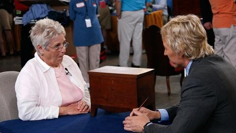 Antiques Roadshow -- S11 Ep10: Appraisal: Federal Walnut Document Chest