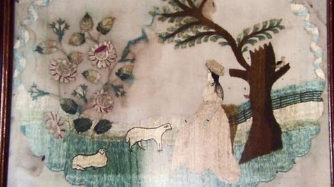Antiques Roadshow -- S16 Ep21: Appraisal: English Silk Needleworks, ca. 1820