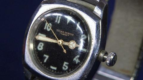"Antiques Roadshow -- S16 Ep21: Appraisal: Rolex ""Army"" Wristwatch, ca. 1940"