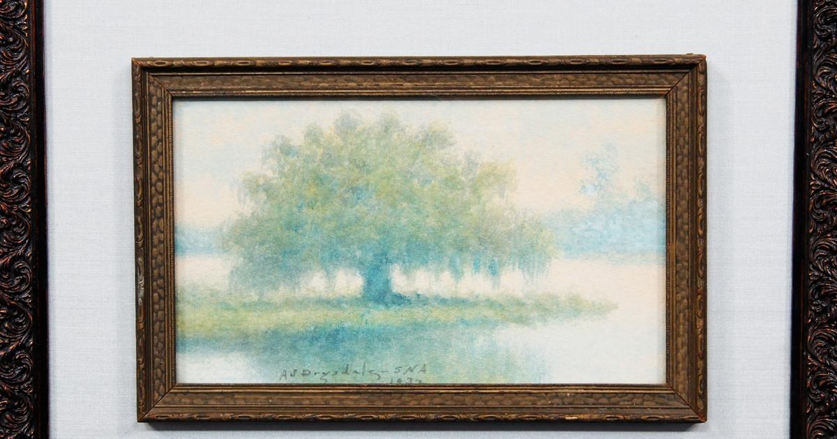 Appraisal 1932 Alexander John Drysdale Oil Painting Antiques