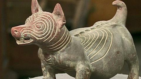Antiques Roadshow -- S16 Ep19: Appraisal: Reproduction Colima Ceramic Dog