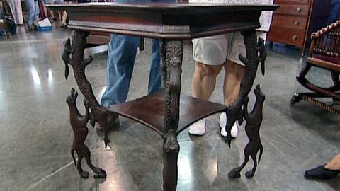 Antiques Roadshow -- S16 Ep19: Appraisal: Carved Table