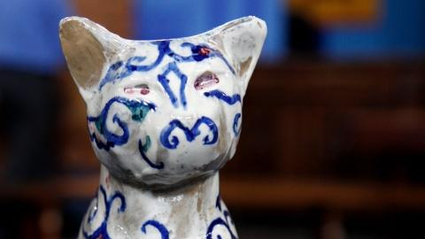 Antiques Roadshow -- S16 Ep19: Appraisal: Walter Anderson Pottery Cat, ca. 1945