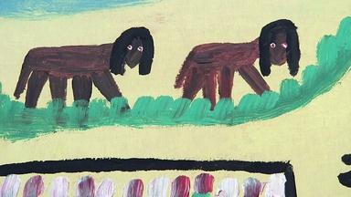 Appraisal: 1971 Clementine Hunter Painting
