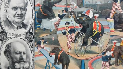 Antiques Roadshow -- S12 Ep1: Appraisal: Barnum & Bailey Circus Poster, ca. 1896