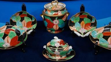 Appraisal: Coalport Dessert Set, ca. 1810