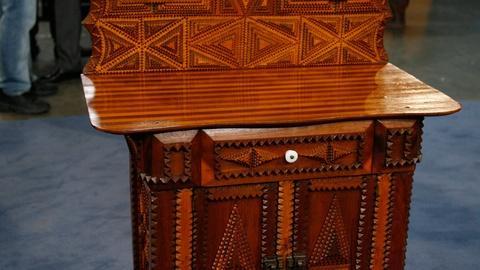 Antiques Roadshow -- S12 Ep2: Appraisal: Pennsylvania Tramp Art Dresser