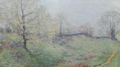 Appraisal: 1906 William Leroy Metcalf Oil Landscape