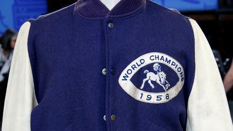 Antiques Roadshow -- S12 Ep2: Appraisal: Johnny Unitas 1958 Championship Jacket