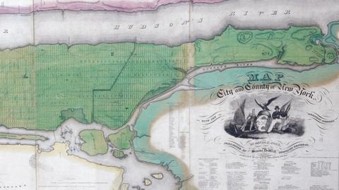 Antiques Roadshow -- S12 Ep3: Appraisal: 1829 D.H. Burr Manhattan Map