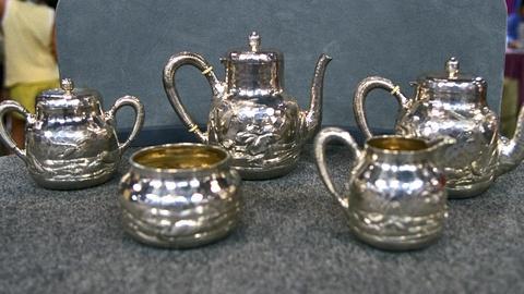 Antiques Roadshow -- S21 Ep25: Appraisal: 1883 Dominick & Haff Silver Tea Set