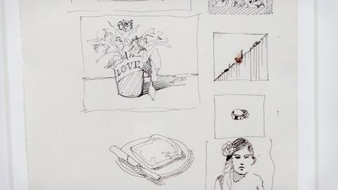 Antiques Roadshow -- S16 Ep20: Appraisal: 1990 Wayne Thiebaud Pen & Ink Drawing