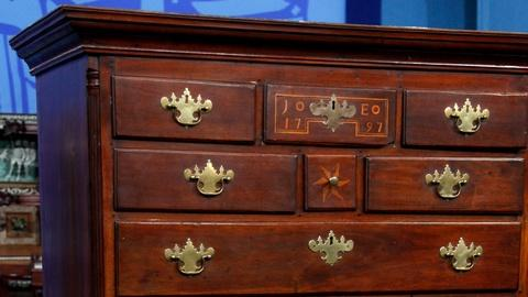 Antiques Roadshow -- S16 Ep20: Appraisal: 1797 Chester County Marriage Chest