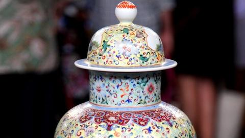 Antiques Roadshow -- S17 Ep2: Appraisal: Chinese Enameled Porcelain Vase, ca. 190