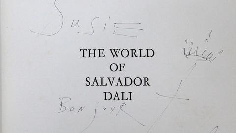 Antiques Roadshow -- S17 Ep2: Appraisal: 1965 Salvador Dali Ink Drawing in Book