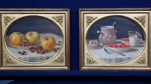 Antiques Roadshow -- S17 Ep2: Appraisal: 1865 J.F. Francis Still Life Oil Paintin