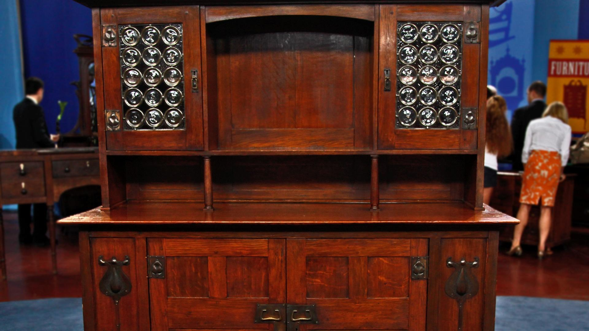 Appraisal: English Arts And Crafts Sideboard, Ca. 1905