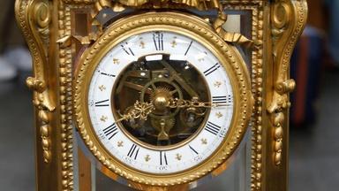 Appraisal: French Crystal Regulator Clock, ca. 1900