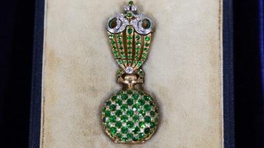 Appraisal: Tiffany & Co. Demantoid Garnet Watch with Fob