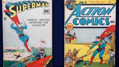 "Appraisal: ""Superman 7"" & ""Action 31"" Comic Books"