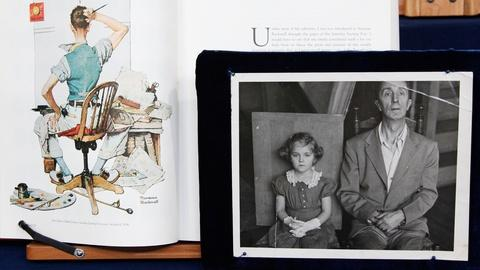 Antiques Roadshow -- S17 Ep4: Appraisal: Norman Rockwell Oil Painting & Chair, ca