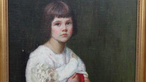 Antiques Roadshow -- S17 Ep5: Appraisal: Lilla Cabot Perry Oil Portrait, ca. 1915