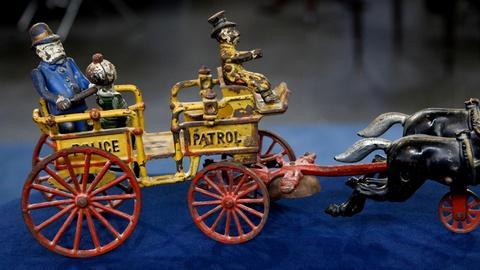 Antiques Roadshow -- S17 Ep5: Appraisal: Happy Hooligan Police Patrol, ca. 1905