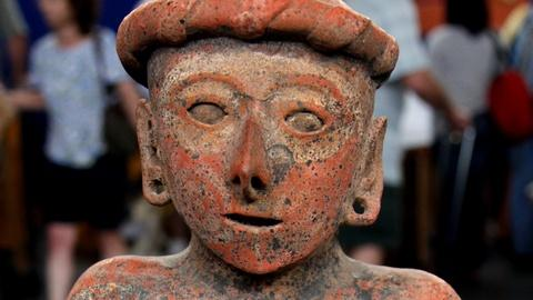 Antiques Roadshow -- S17 Ep5: Appraisal: Nayarit Seated Figure, 200 BC – 200 AD