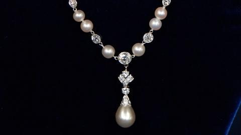 Antiques Roadshow -- S17 Ep6: Appraisal: Tiffany & Co. Natural Pearl & Diamond Ne