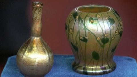 Antiques Roadshow -- S17 Ep2: Appraisal: Four Tiffany Favrile Glass Vases