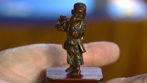 Antiques Roadshow -- S17 Ep2: Appraisal: Miyao Mixed Metal Figure, ca. 1880