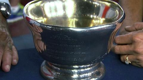 Antiques Roadshow -- Appraisal: 1883 Whiting Sterling Silver Trophy Club