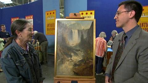 Antiques Roadshow -- S17 Ep6: Appraisal: Thomas Hill Yosemite Oil Painting, ca. 1