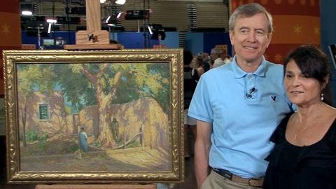 Antiques Roadshow -- S17 Ep7: Owner Interview: Joseph Henry Sharp Oil Painting, c
