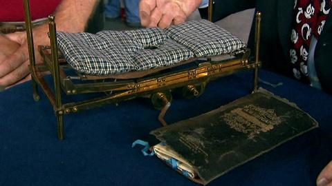 Antiques Roadshow -- S17 Ep8: Appraisal: Concept Model Hospital Bed, ca. 1910