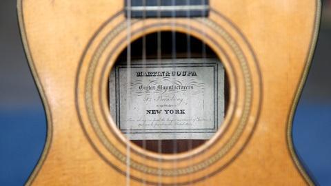 Antiques Roadshow -- S17 Ep8: Appraisal: Martin & Coupa Guitar, ca. 1845
