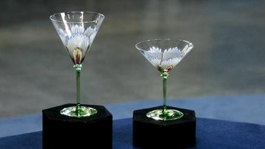 Appraisal: Theresienthal Glass Goblets, ca. 1905