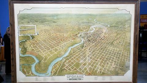 Antiques Roadshow -- S12 Ep10: Appraisal: 1905 Spokane Bird's-Eye View Lithograph