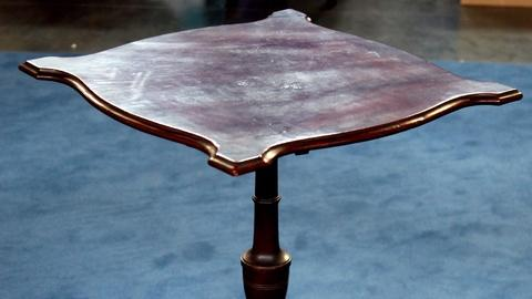 Antiques Roadshow -- S17 Ep9: Appraisal: Massachusetts Federal Candlestand