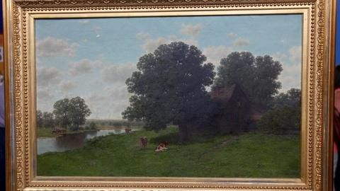 "Antiques Roadshow -- S17 Ep9: Appraisal: W.M. Brown ""The Old Homestead,"" ca. 1860"