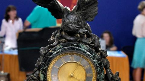 Antiques Roadshow -- Appraisal: French Figural Clock, ca. 1880