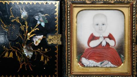 Antiques Roadshow -- S12 Ep11: Appraisal: Folk Miniature Portrait, ca. 1830