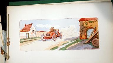 Appraisal: Ernest Montaut Auto Racing Print Book, ca. 1910