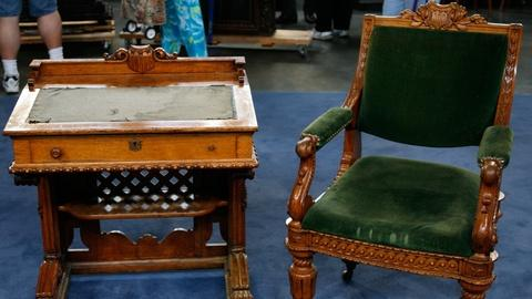 Antiques Roadshow -- S12 Ep12: Appraisal: Congressional Desk and Chair, ca. 1857