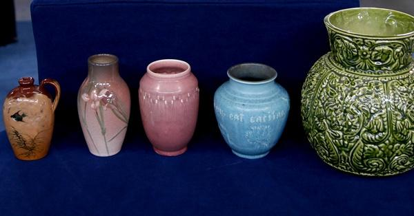 Appraisal Rookwood Pottery Collection Antiques Roadshow Pbs