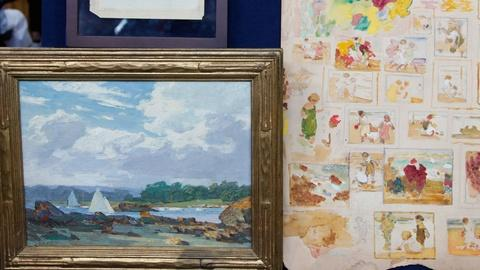 Antiques Roadshow -- S17 Ep10: Appraisal: Edward Henry Potthast Works of Art, ca.