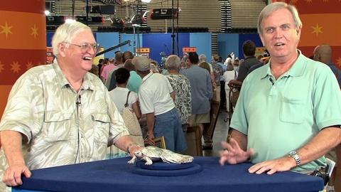Antiques Roadshow -- S17 Ep9: Owner Interview: Japanese Silver Tortoise, ca. 1900