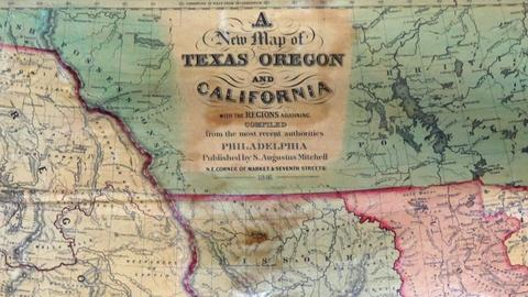 Antiques Roadshow -- S17 Ep11: Appraisal: 1846 S. Augustus Mitchell U.S. Wall Map